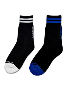 [50% 세일] Stripe Logo Socks