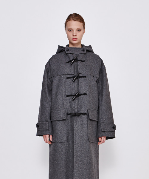 [19FW][50% 세일] Drop Shoulder Duffle Coat (GE)