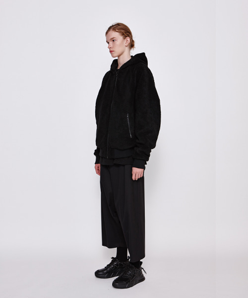 Hood Reversible Short Jumper (BK)