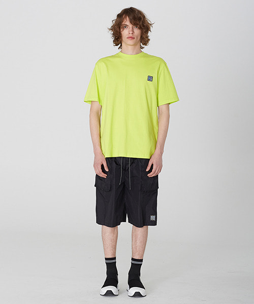 [19S/S][50% 세일] Nylon Oversize Pocket Shorts (BK)