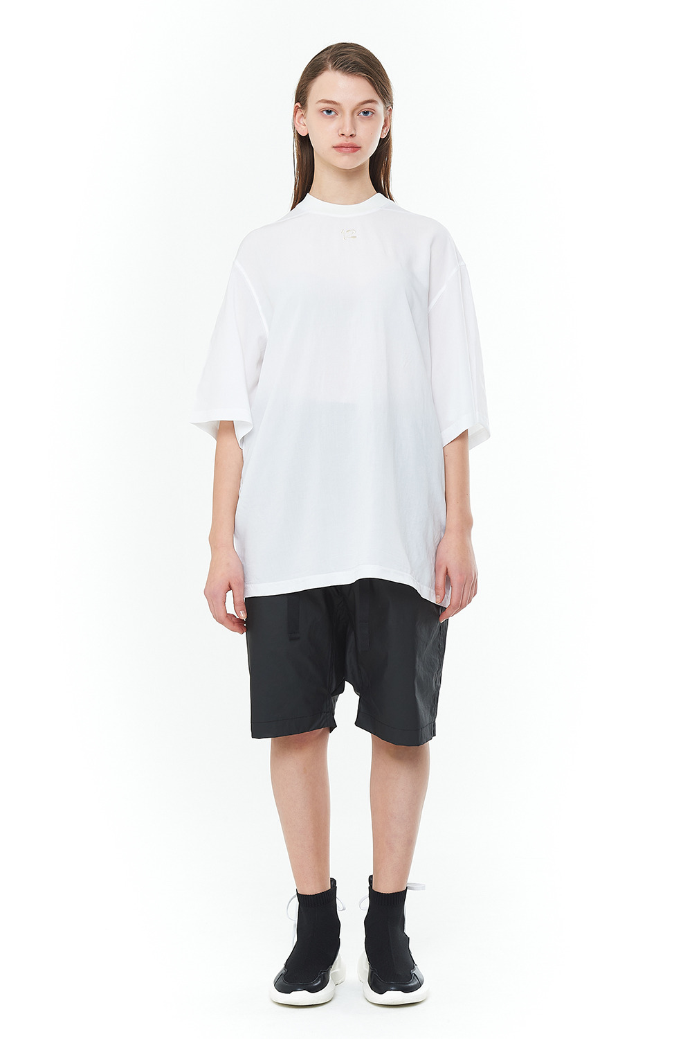 [20SS][30% SALE] Double Face Signature T-Shirts (WH)_ PA1TS1414