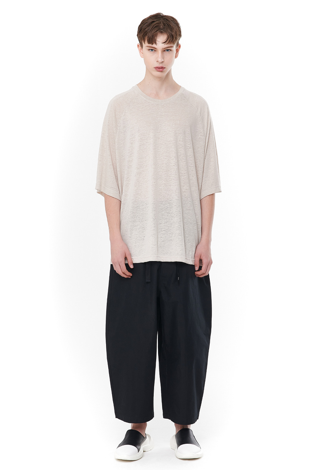 [20SS][30% SALE] Linen Flat lock T-Shirts (BE)_ PA1TS0606