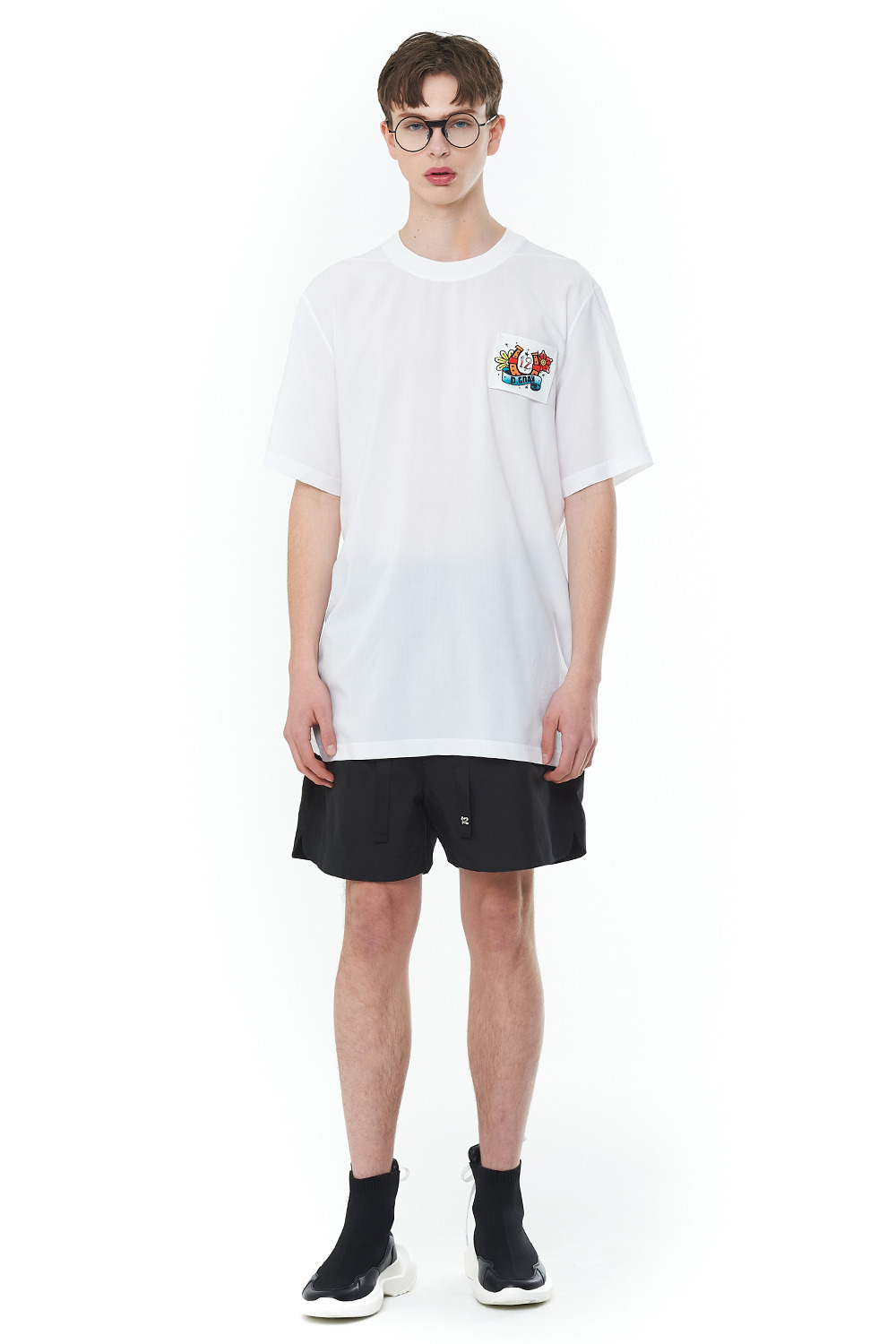 [20SS][50% SALE] Old School Basic T-Shirts (WH)_ PA1TS3232