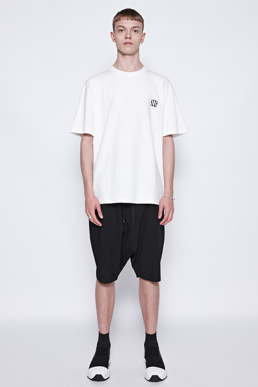 [19SS][50%SALE] String Baggy Shorts (BK)