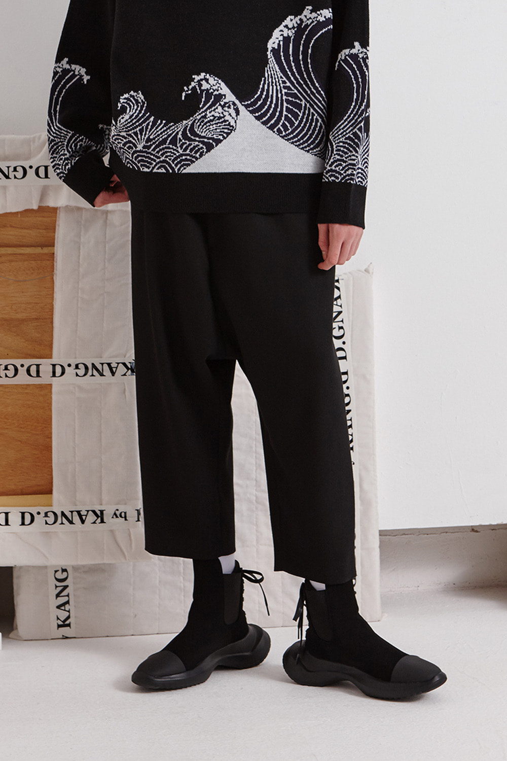 [19FW][60% 세일] Double Back Pocket Baggy Pants
