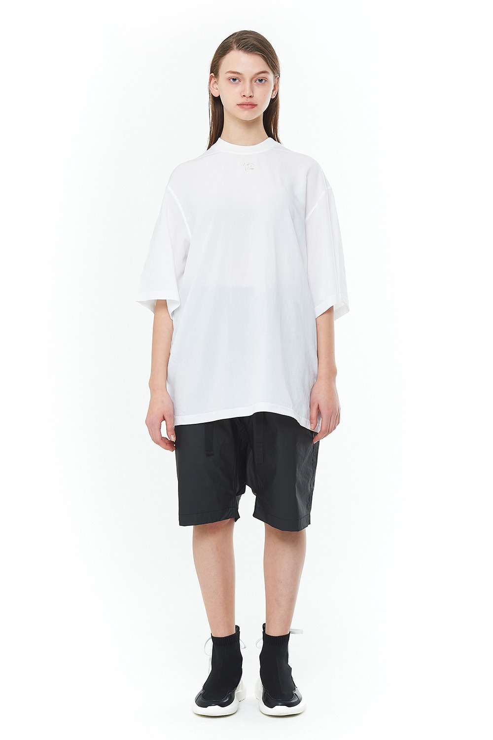 [20SS][50% SALE] Double Face Signature T-Shirts (WH)_ PA1TS1414